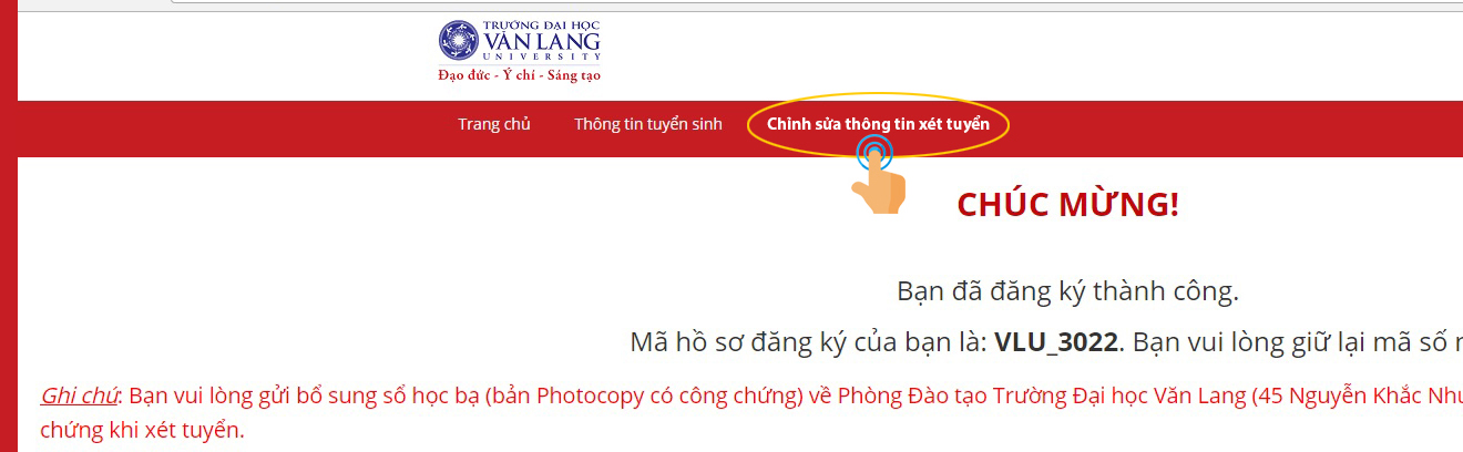 VLU dieu chinh thong tin2